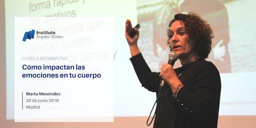 Charla gratuita en Madrid: Cómo impactan las emociones en tu cuerpo