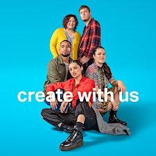 College of Creative Arts, Massey University, Wellington logo
