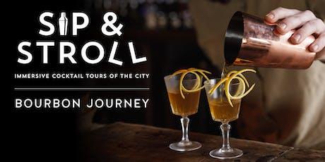 Sip & Stroll Bourbon Walking Tour tickets