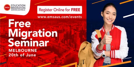 Free Migration Seminar Melbourne (June 2019) tickets