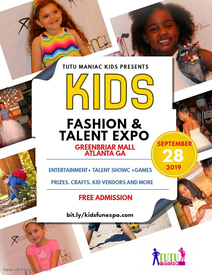 Kids Fall Fashion and Talent Expo image