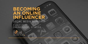 Becoming an Online Influencer