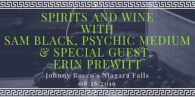 Spirits & Wine with Sam Black Psychic Medium and Intuitive Erin Prewitt