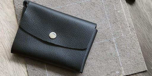 Style Theory x Bynd Artisan:  Basic Leather Card Holder Workshop