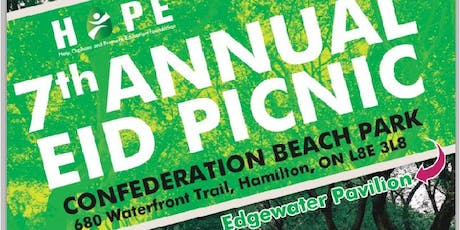 HOPE ANNUAL PICNIC - 2019  tickets