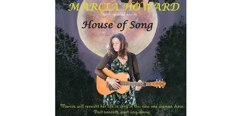 Marcia Howard, House of Song Show, F Project Art Gallery W'Bool Sat. June 22nd tickets