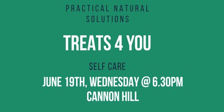 Treats 4 You - Self Care DIY with Essential Oils tickets