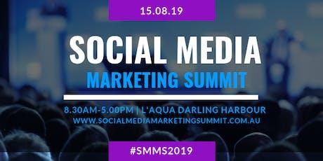 2019 Social Media Marketing Summit tickets