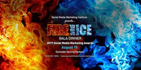 2019 Social Media Marketing Awards Gala Dinner tickets