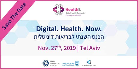 Digital.Health.Now. 2019 Save The Date tickets