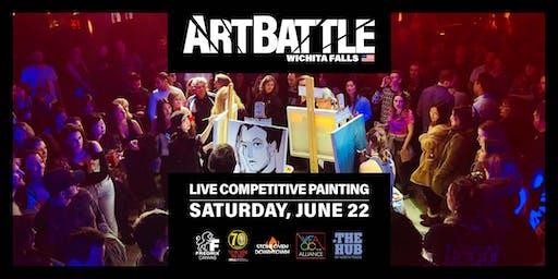Art Battle Wichita Falls - June 22, 2019