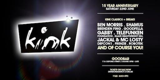KINK 15 Year Anniversary