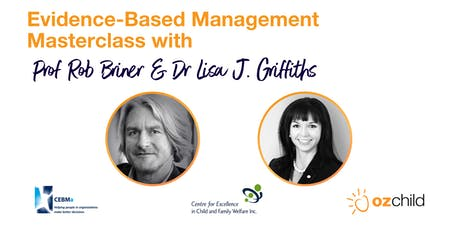 Evidence-Based Management Masterclass tickets