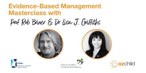 Evidence-Based Management Masterclass