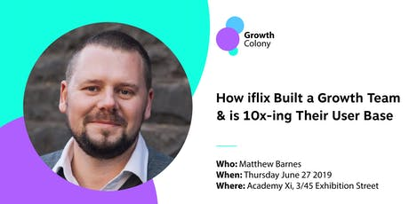 How iflix Built a Growth Team & is 10x-ing Their User Base tickets