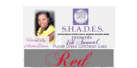 The Purple Dress Luncheon: Goes RED! tickets