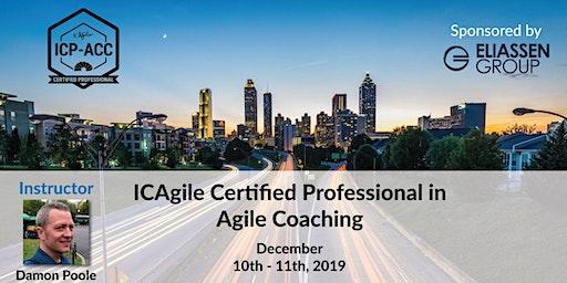 Agile Coach Workshop with ICP-ACC Certification - Atlanta - Dec
