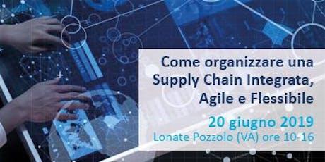 Organizzare una Supply Chain Integrata Agile e Flessibile: Casi e WorkShop tickets