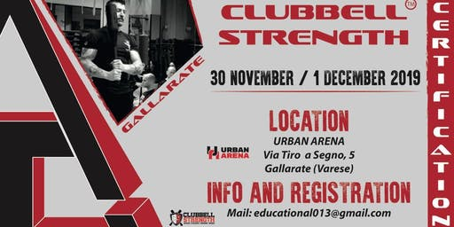 Clubbell Strength Certification