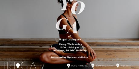 Yoga at Ikigai Nairobi (Lavington) tickets