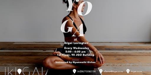 Yoga at Ikigai Nairobi (Lavington)