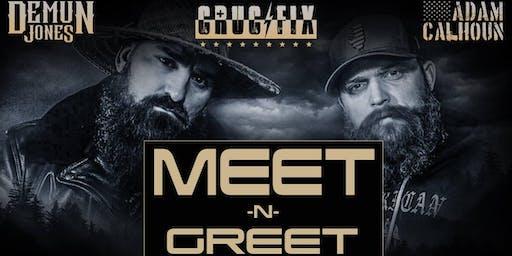 Demun Jones & Adam Calhoun Official Meet and Greet (Greensboro, NC)