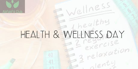 Health & Wellness Day tickets