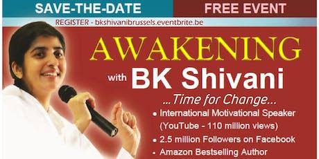 Awakening with BK Shivani - Time for Change tickets