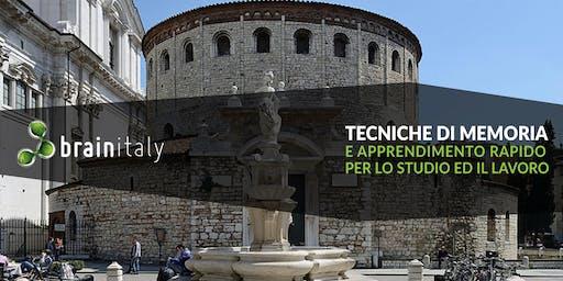 Brescia: Corso gratuito di memoria