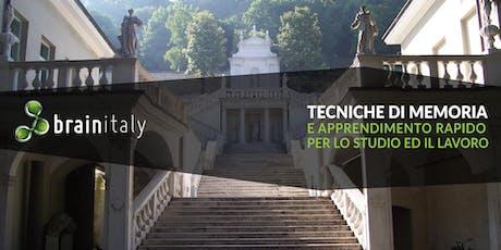 Brescia: Corso gratuito di memoria biglietti