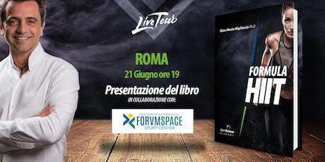 ROMA | Presentazione libro Formula HIIT  biglietti