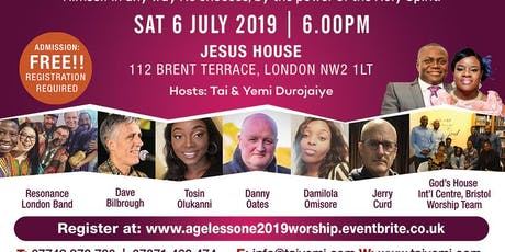 AGELESS ONE WORSHIP EXPERIENCE - Let the Glory Fall tickets