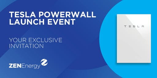 ZEN Energy Product Launch: Tesla Powerwall