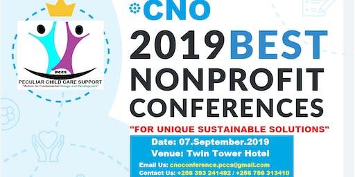 CNO - CONFERENCE FOR NON-PROFIT ORGANIZATIONS