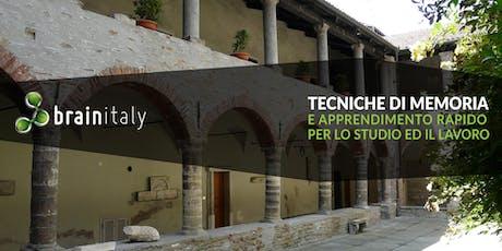 Acqui Terme: Corso gratuito di memoria tickets