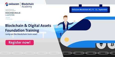 Blockchain and Digital Assets – Foundation Training tickets