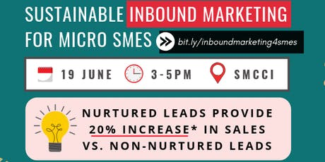 Sustainable Inbound Marketing for Micro SMEs tickets