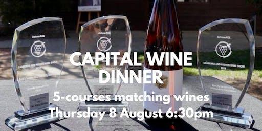 Capital Wines Dinner