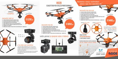 WORKSHOP AEROFOTOGRAMEMTRIA CON DRONE GRATUITO