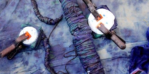 Indigo Dyeing: Shibori