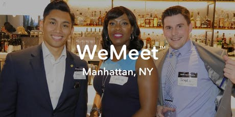 WeMeet Manhattan Networking & Happy Hour tickets
