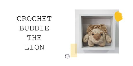 Crochet Buddie the Lion at Blend! tickets