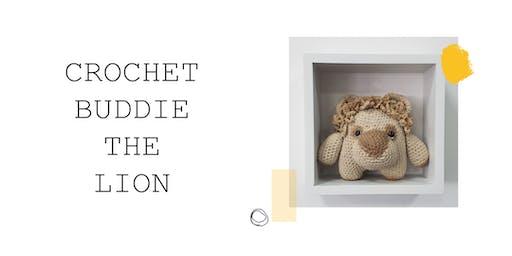Crochet Buddie the Lion at Blend!