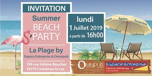 Summer Beach Party by Espace Entreprise et Omnipub