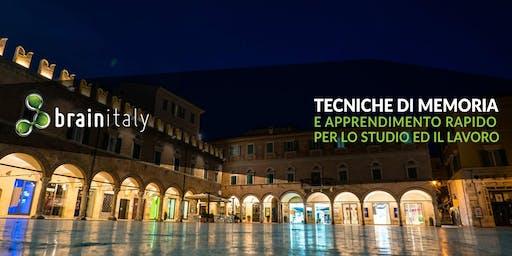 Ascoli Piceno: Corso gratuito di memoria