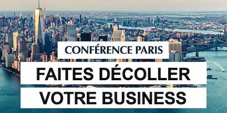 Paris 26/06/2019 - Soirée Faites Décoller votre business - David Laroche billets