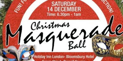 Christmas Masquerade Themed Ball