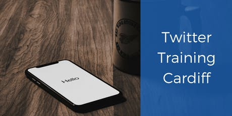 Twitter Training Course Cardiff tickets