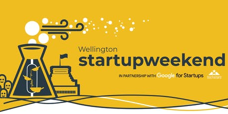 Startup Weekend Wellington // July 2019 tickets