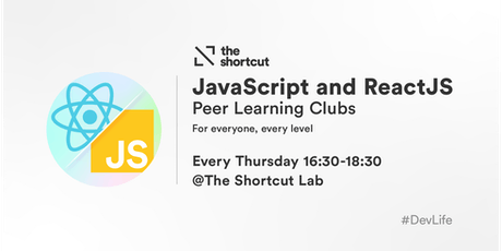 JavaScript and ReactJS Clubs tickets